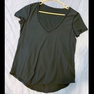 Lululemon forest green v-neck